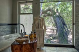 Bathroom at phinda forest lodge