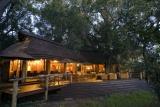 Nxabega okavango tented camp by night