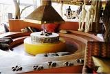 Colourful lounge at Jaci's Safari Lodge, Madikwe Game Reserve