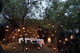 Safari dinners under an African sky, Madikwe Safari Lodge, Madikwe Game Reserve