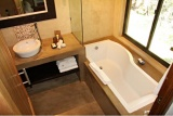 Bath with a view, Madikwe River Lodge