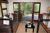 View of private patio, Madikwe River Lodge