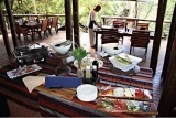 Open-plan dining area, Madikwe River Lodge