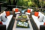 Morukuru family - terrace at river house