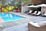 Morukuru owners house - heated pool and deck