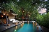 Morukuru river house pool