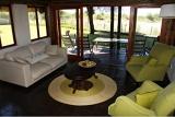Private lounge, Tau Game Lodge