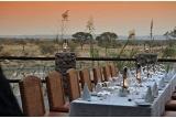 Alfresco-dining on safari, Tau Game Lodge