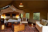 Seriously spacious safari tents, Thakadu River Camp