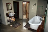 Luxury bathroom at The Hide