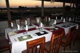 Dining at Camp Hwange
