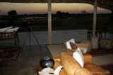 Sunset view Camp Hwange