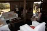 Somalisa lounge with visitors