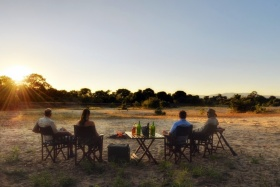 Kanga camp bush sundowners