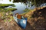 Goliath Safaris canoe