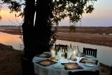 Tafika camp - dinner table