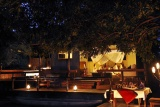 Chiawa chalet by night