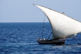 Typical arab dhow