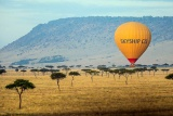 Hot air ballooning over Laikipia, Kenya