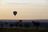 Maasai mara hot air ballooning