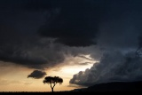 Dramatic thunderstorms at Meru