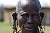 Wizen masaai woman