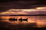 Canoeing on zambezi
