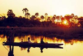 Okavango mokoro