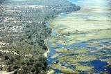 Waterway edge botswana