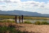 Walking safari at Mana Pools