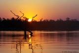 Sunset at Lake Kariba