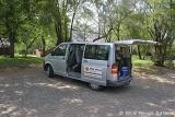 Arriving at Kruger Park