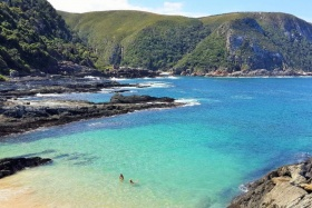 Beautiful beaches of Tsitsikamma National Park