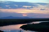 Katavi river sunset
